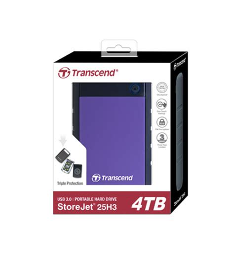 Transcend Storejet 25 Antishock 2tb H3 Usb 31 transcend storejet anti shock 25h3 usb 3 0 rugged external disk drive 500gb 1tb 2tb
