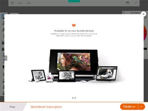 sketchbook by autodesk autodesk sketchbook si rinnova per pc e tablet windows 10