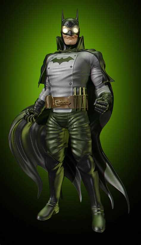 Batman Gotham By Gaslight Elseworlds Ebooke Book batman 75 years project zero on behance