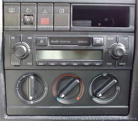 Audi Chorus by Audi Chorus Ii Im Audi 80 B4 Abt Bosquehombre