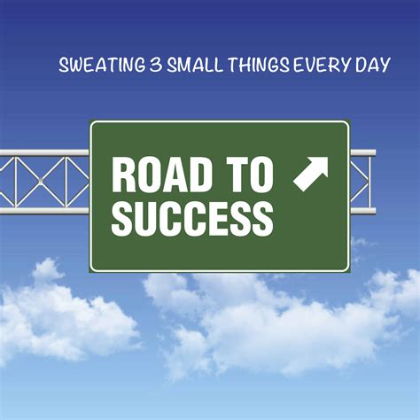 Things Every Day sweating 3 small things every day smart circle