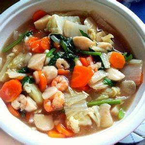 cara membuat bumbu capcay kuah resep membuat capcay seafood kuah spesial resep masakan 4