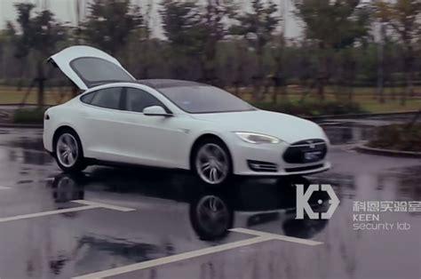 Tesla Model W Researchers Demonstrate Hacks On Tesla Model S W