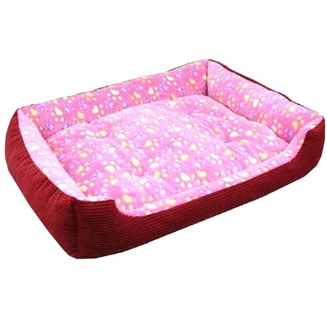 pink dog beds large pink dog bed restate co