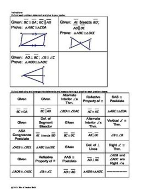 Geometry Worksheet Beginning Proofs