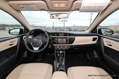 Toyota Corolla 2014 Interior by New Budget Cars 101 2013 15 Toyota Corolla Review