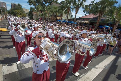 Florida State Mba by Fsu Lives Its Legacy During 2016 Homecoming Parade