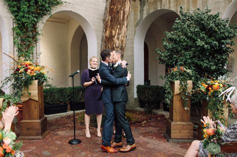 Paul & David   San Francisco Art Institute Wedding   San