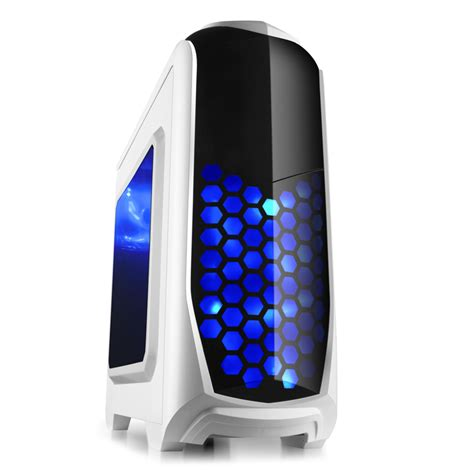 Desk Top Computer For Sale 2015 Sale Desktop Computer White With 2 Led Fan Usb3 0 Reader Freeshipping In Computer