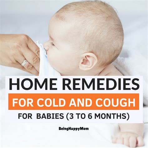 3 Month Baby Cold Medicine by 13 Best Home Remedies For Cold And Cough In Babies 3 To 6