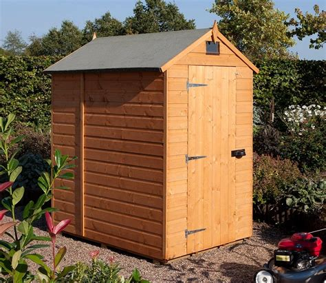 4ft Shed by Rowlinson Security 4ft X 6ft Shed Gardensite Co Uk