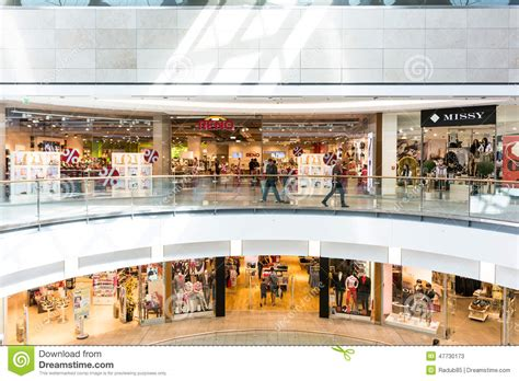 one forum forum debrecen shopping mall editorial stock photo image