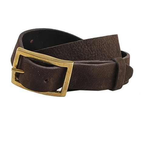 rugged belt lyst rag bone rugged belt in brown for