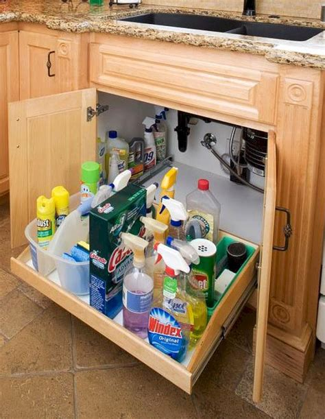 50 photos of kitchen cabinet organization hack ideas