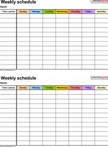 chronogram template 17 best ideas about weekly schedule on