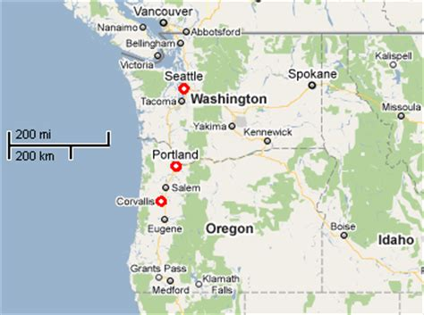 map of oregon airports visiting us applied magnetics laboratory oregon state