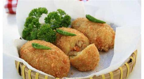 38 Resep Penggugah Selera Makanan Anak ini resep kroket kentang kornet
