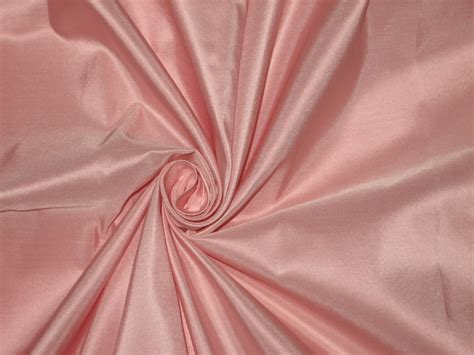 light pink satin curtains 100 pure silk taffeta fabric light pink 4 45 yards