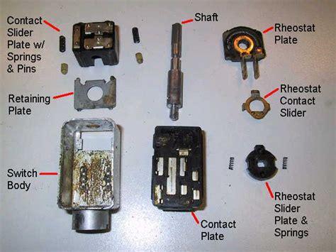 porsche 914 headlight switch repair 1969 1976
