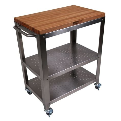 kitchen cart with butcher block top decorating