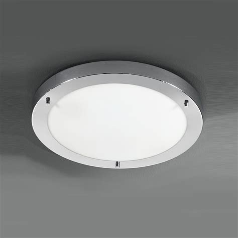 franklite cf5682 ip44 1 light flush bathroom ceiling fitting