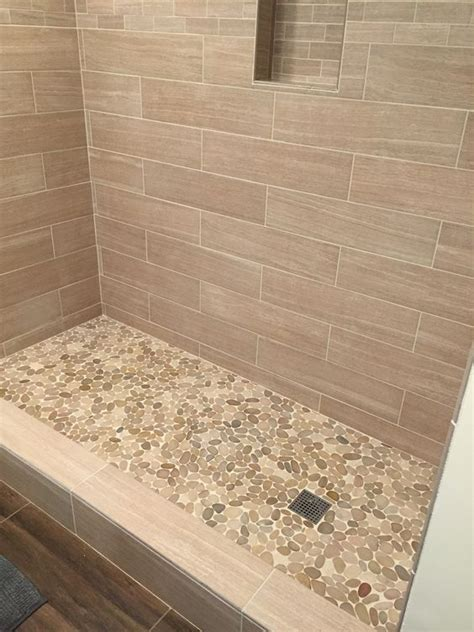 Shower Base Tile by 17 Best Ideas About Pebble Shower Floor On