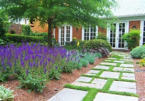 Southern Landscaping Ideas Walkway And Path Pinehurst Nc Photo Gallery Landscaping Network