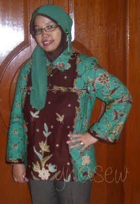 Tote Batik Perca ynasew batik bag and the model