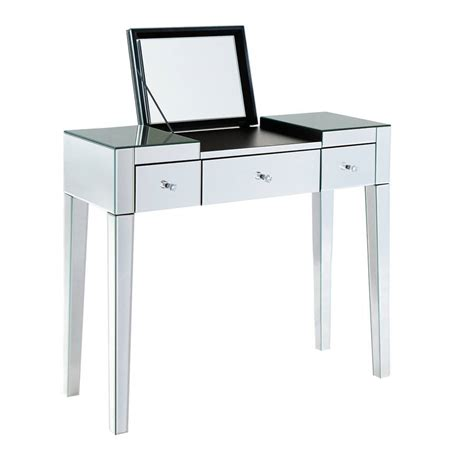 Modish Mirrored Dressing Table By Out There Interiors Mirrored Changing Table