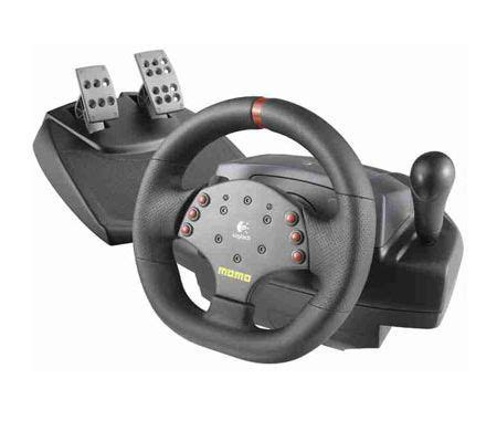 volante logitec logitech momo racing feedback wheel test complet