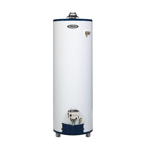 Small Water Heaters At Lowe S Shop Whirlpool 6th Sense 30 Gallon 6 Year Gas Water