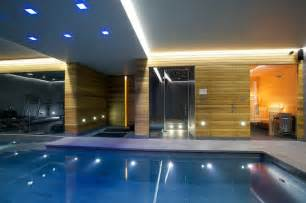 Indoor luxury swimming pool surrey modern pool other by