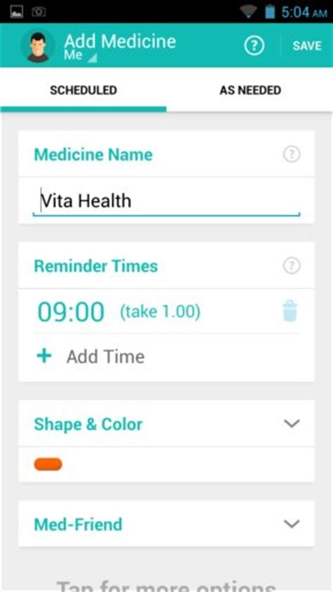 reminder app android 5 free pill reminder apps for android