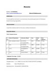 How To Prepare For Resume by The Stylish How To Prepare Resume For Freshers Resume Format Web