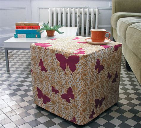 covering an ottoman sewing 101 ottoman slip cover design sponge