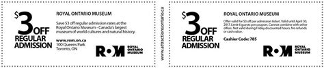 haircut coupons toronto royal ontario museum coupon attractions ontario