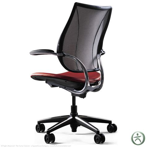 Humanscale Liberty Chair by Shop Humanscale Liberty Chairs With Leather Seat