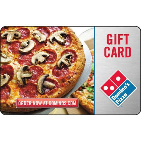 Dominoes Gift Card - domino s pizza gift card entertainment dining gifts food shop the exchange