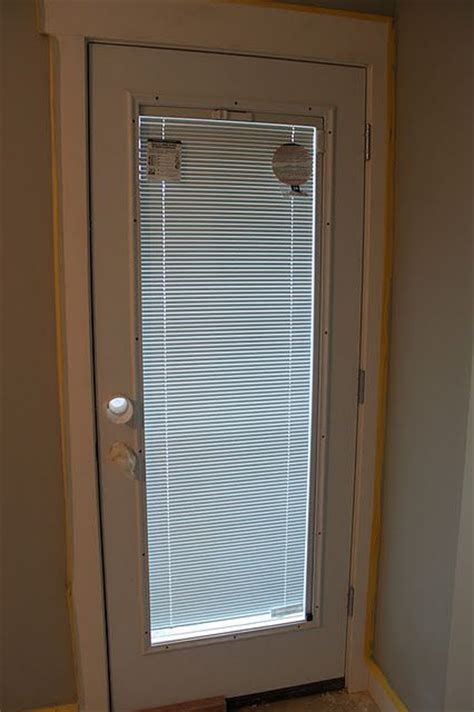 Single Patio Doors With Built In Blinds Door With Built In Blinds Quot Jeldwen Quot Special Ordered Through Home Depot I Want This Door When