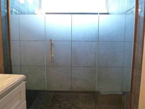 Sandblasted Shower Doors Custom Multi Panel Etched Sandblasted Shower Doors Creative Mirror Shower