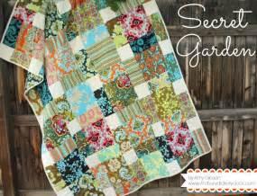 Garden Quilt Pattern Secret Garden Quilt By Gibson Craftsy