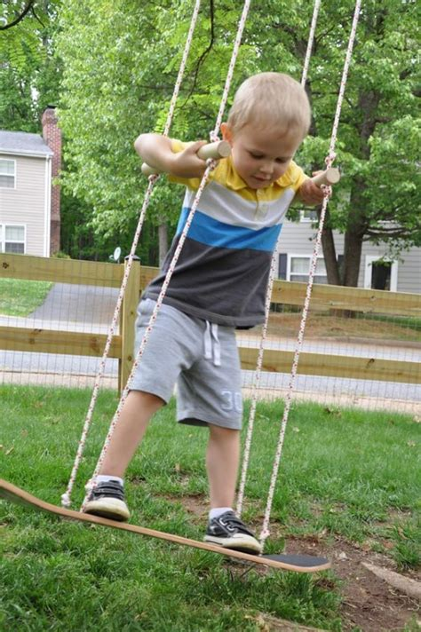 diy rope swing 30 homemade diy swing ideas indoor outdoor