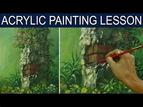 acrylic paint lessons on 1434 best painting with acrylics images on