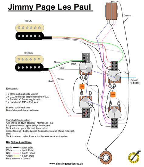 image of jimmy page wiring kit