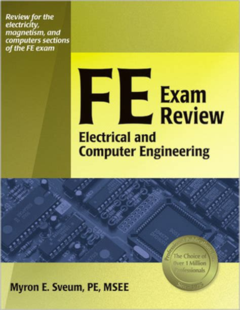 fe exam review electrical  computer engineering  myron  sveum reviews discussion