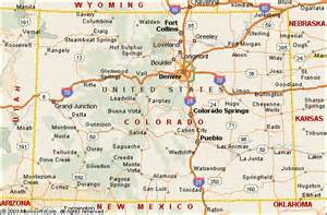colorado on map colorado family travel guide a week at the