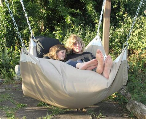 shallow swing disc part beanbag part hammock the beanock is all awesome