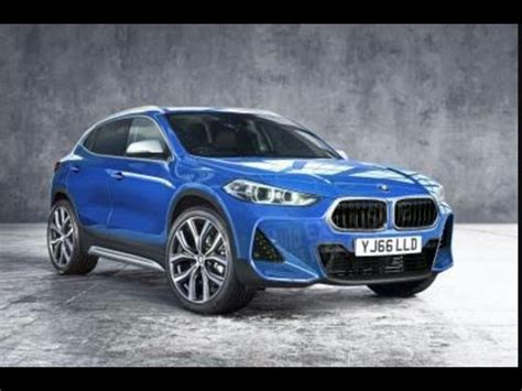 bmw x2 concept 2018 interior and exterior car guru youtube