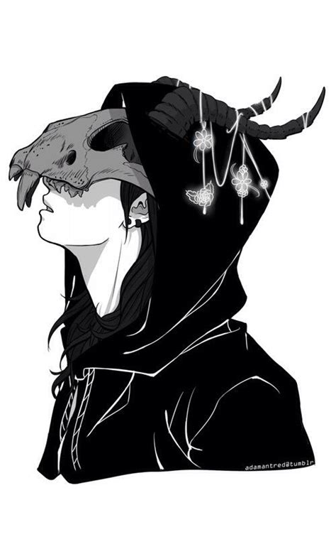 Kaos Ken Kaneki Black White Tokyo Ghoul Hobiku Anime Store skull anime pencil and in color skull anime