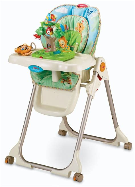 Rainforest High Chair Fisher Price Fisher Price Rainforest Food Tray High Chair With